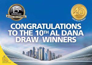 10th Al Dana Draw