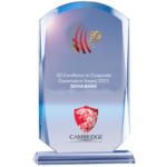 3G Excellence in Corporate Governance Award
