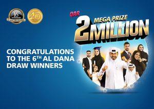Al Dana 6th Draw Winners