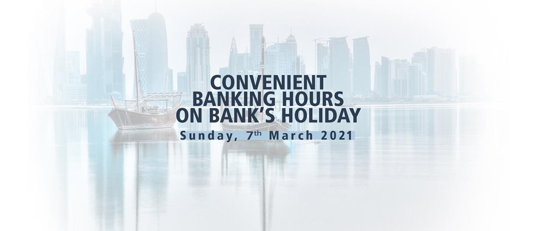 Bank's Holiday