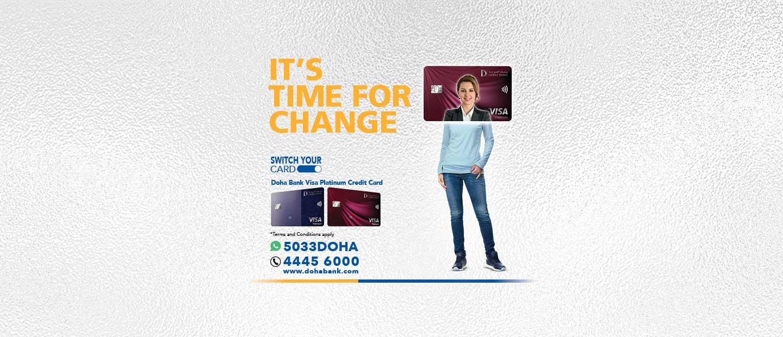 Doha Bank Visa Platinum Credit Card
