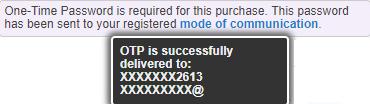 OTP not Delivered