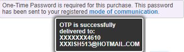OTP Delivered