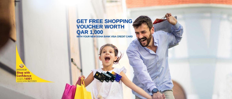 Free Shopping Voucher
