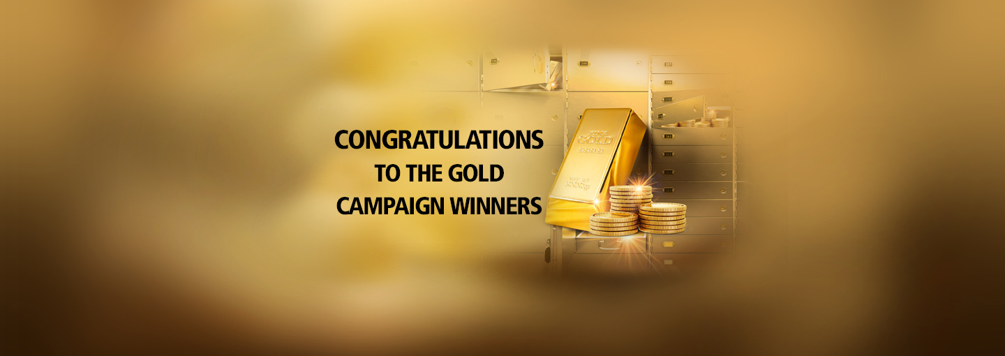 Gold Campaign Winners