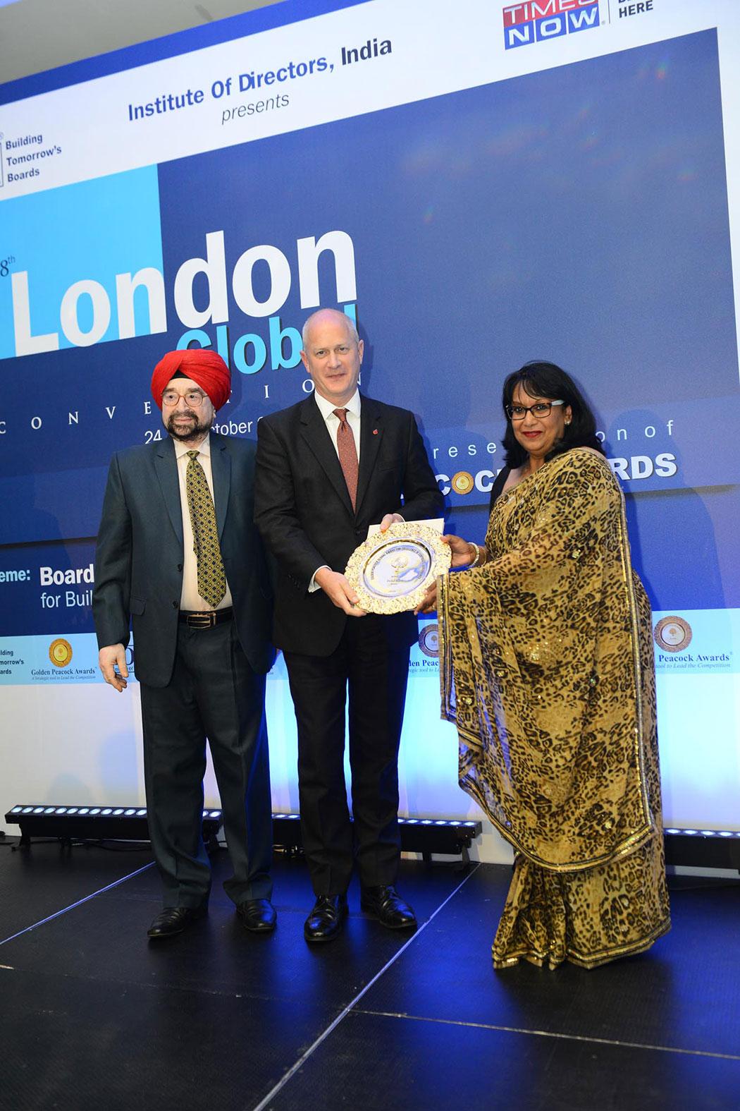 Golden Peacock Global Award