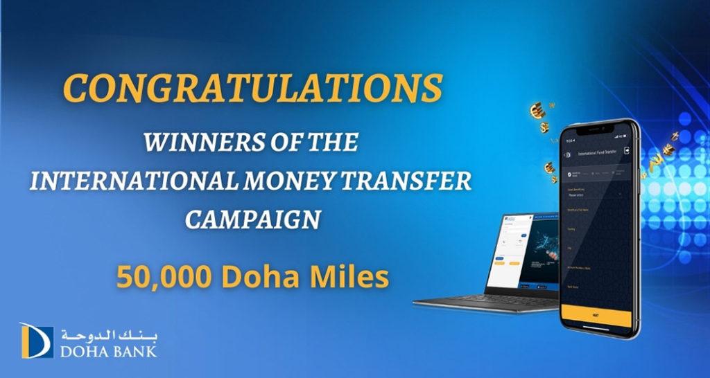 International Money Transfer Winners