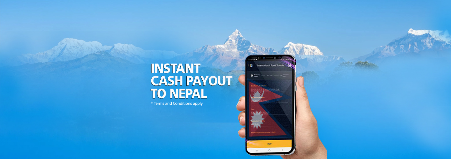 Instant Remittance to Nepal