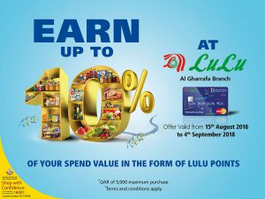 LuLu Doha Bank Credit Card