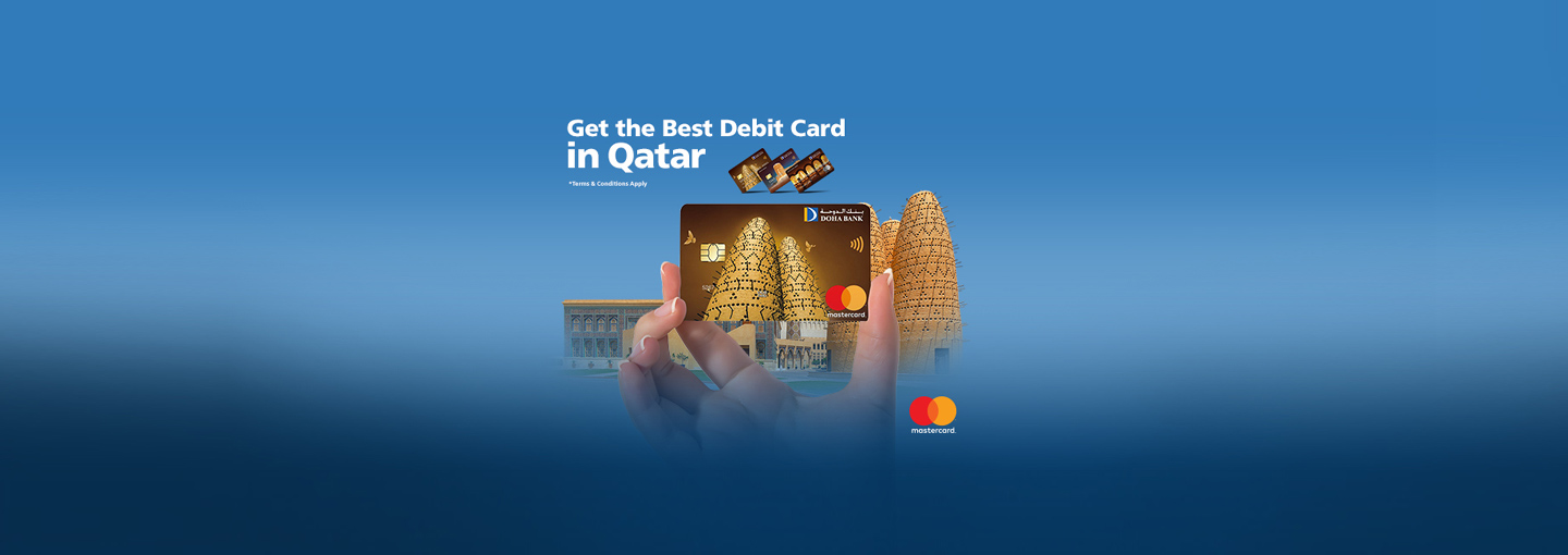Doha Bank MasterCard Debit Card