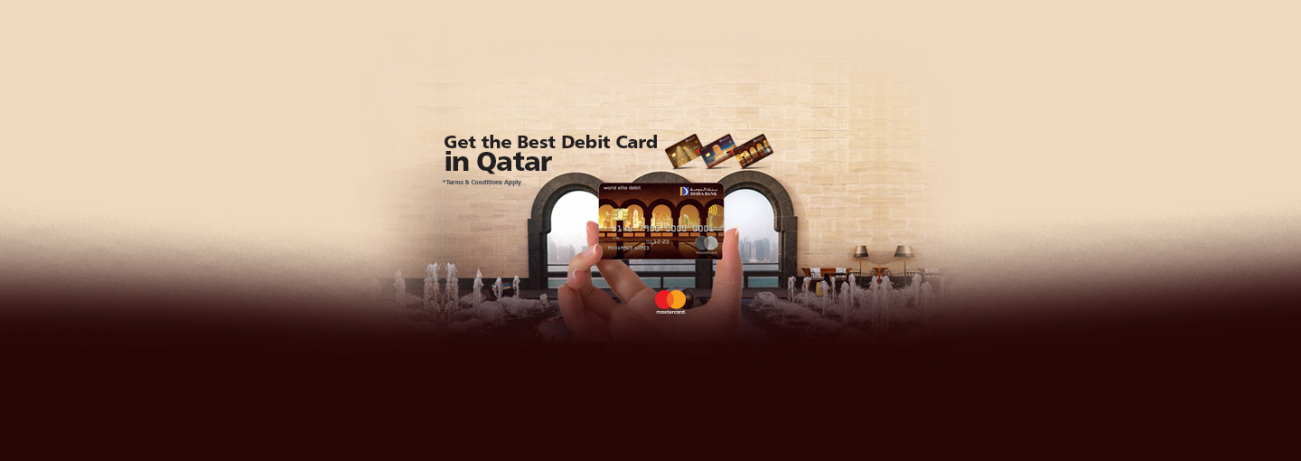 Doha Bank MasterCard World Elite Debit Card