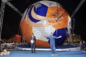 World's Largest Soccer Ball