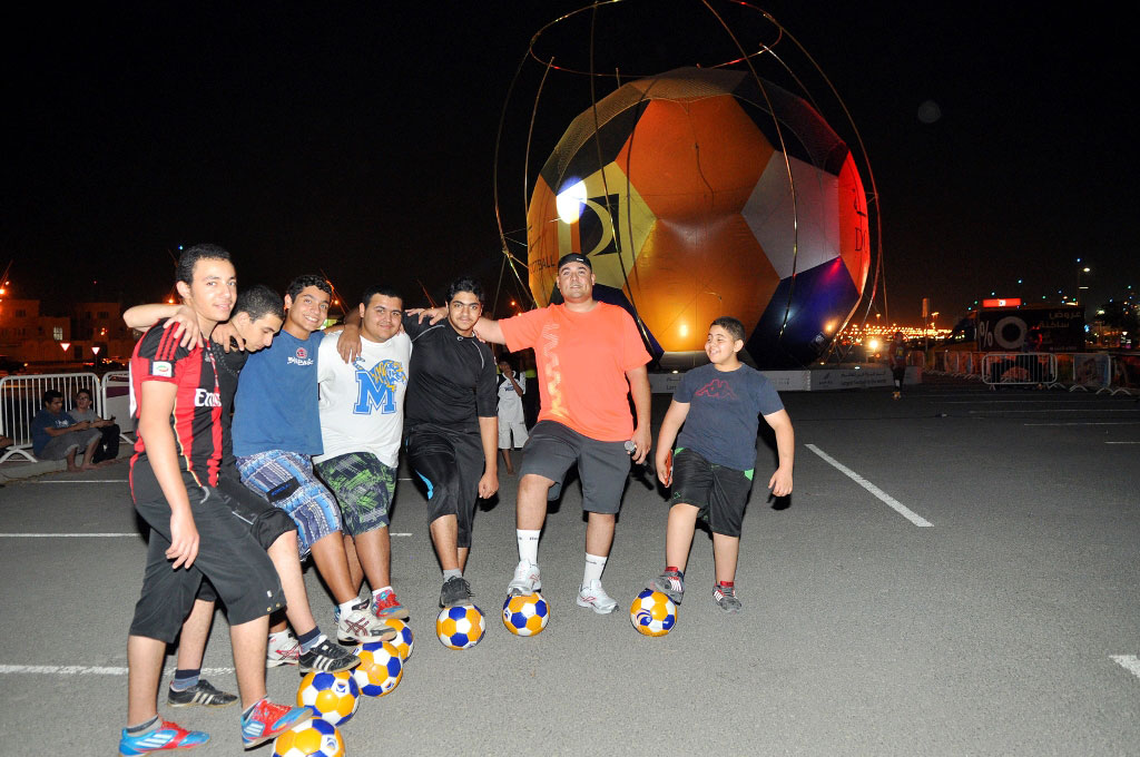 largest soccer ball