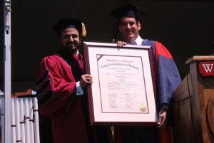 Honorary Doctorate by Washington College