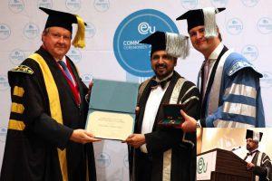 Honorary Doctorate by European University