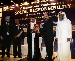 Golden Peacock Global Award 2012