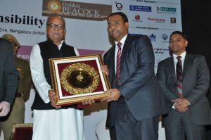 Golden Peacock Global Award 2013