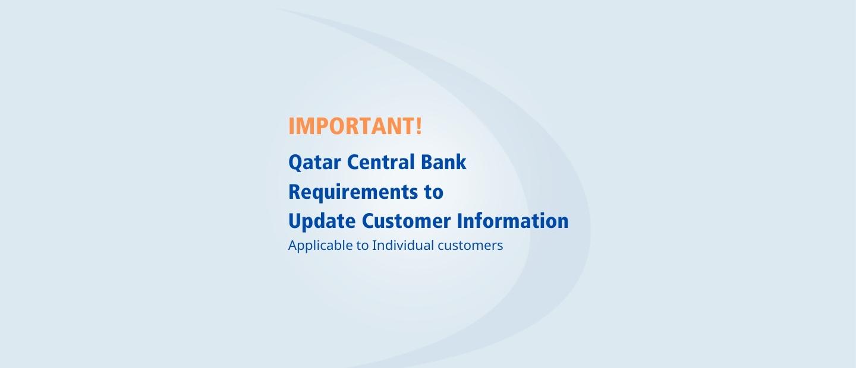 Customer Information Updates