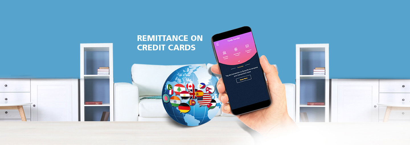 Remittance on Credit Cards
