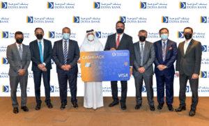 Visa Cashback Card Launch