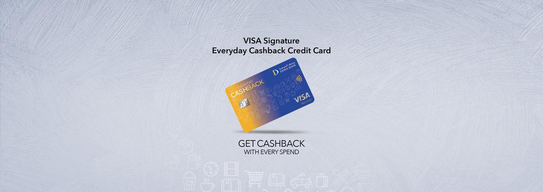 Doha Bank Visa Signature Everyday Cashback Credit Card
